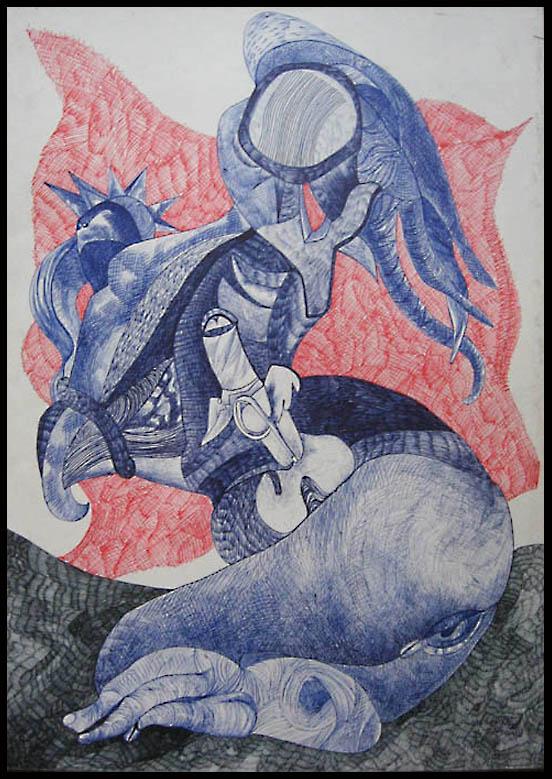 Tantric Goddess by Oshunx