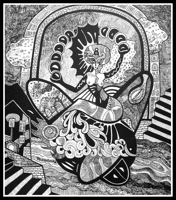 Aphrodite Urania by Oshunx