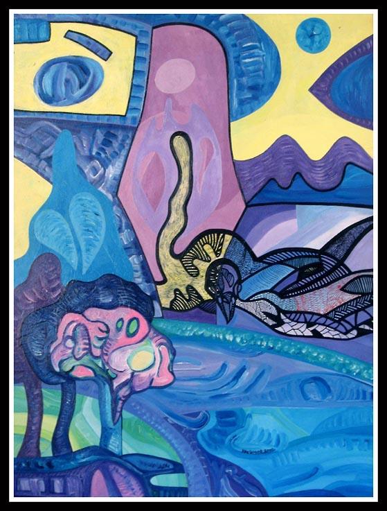 Blue Phoenix by Oshunx