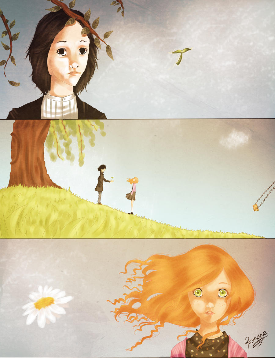 Lily and Snape - first meeting