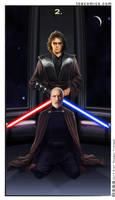 SW Tarot: Two of Swords