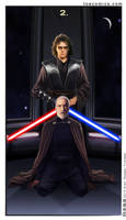 SW Tarot: Two of Swords by theory-of-everything