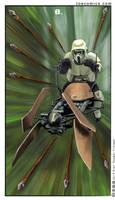 Star Wars Tarot: 8 of Staves