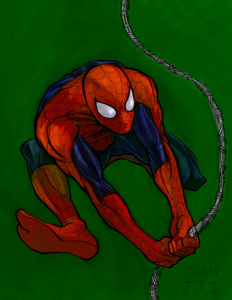 Spider-Man by theory-of-everything