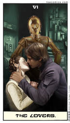 Star Wars Tarot: The Lovers