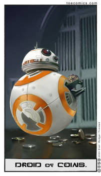 Star Wars Tarot: The Droid of Coins