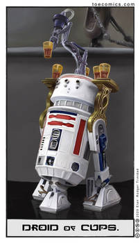 Star Wars Tarot: The Droid of Cups