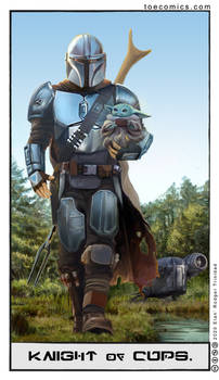 Star Wars Tarot: Knight of Cups