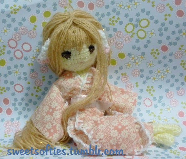 Chii from Chobits Amigurumi Doll by Sylemn