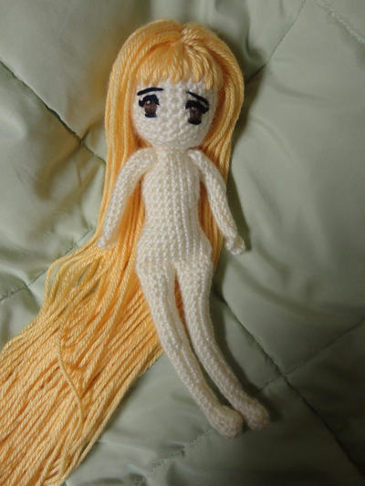 Japanese Anime Manga Crochet/Amigurumi Doll by Sylemn on ...