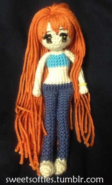 Amigurumi One Piece : One Piece - Nami - Crochet/Amigurumi Doll by Sylemn on ...