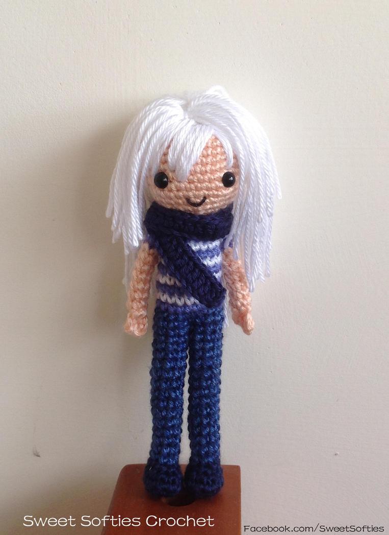 Amigurumi Doll Anime : Ryou Bakura Amigurumi Crochet Doll, Yu-Gi-Oh Anime by ...