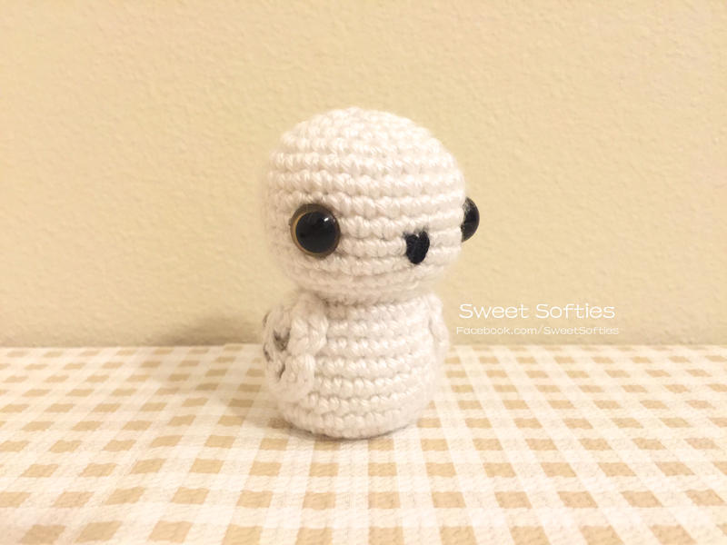 Crochet Pattern For Pikachu Doll : Snowy Owlet, Harry Potter Hedwig Baby Owl Plushie by ...