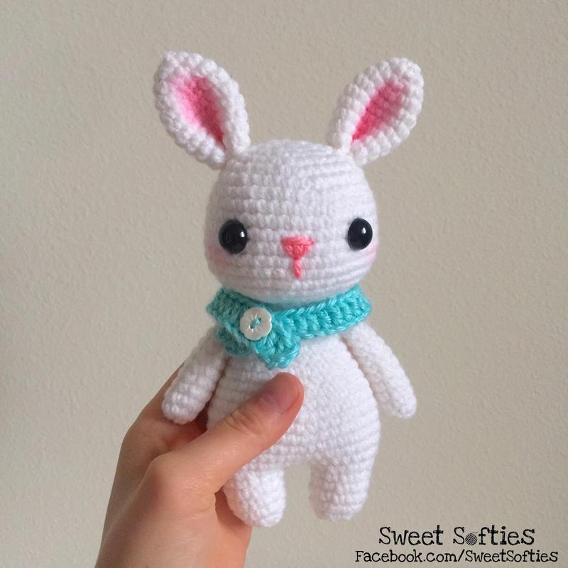 Sleepy bunny amigurumi pattern   Amiguroom Toys   800x800