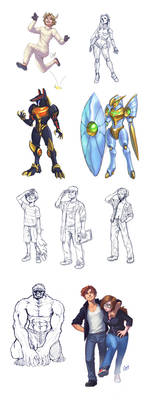 Sketch Commissions batch 1