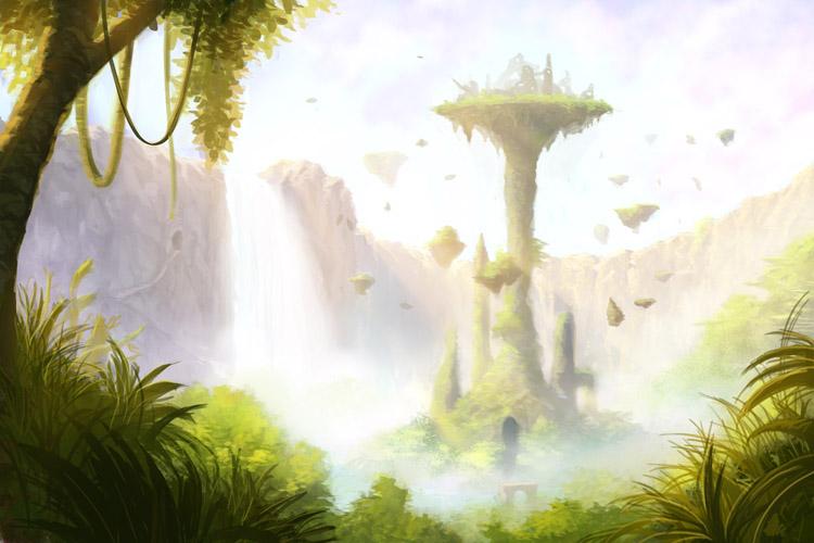 Temple of Celestia by Fernosaur