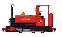 Adeline hunslet oil engine a gift for Dan