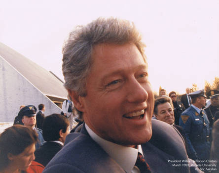 Bill Clinton at Rutgers 1993