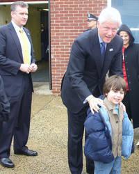 Bill Clinton Photo Op 1, 2008
