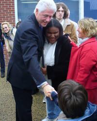 Bill Clinton Photo Op 2, 2008
