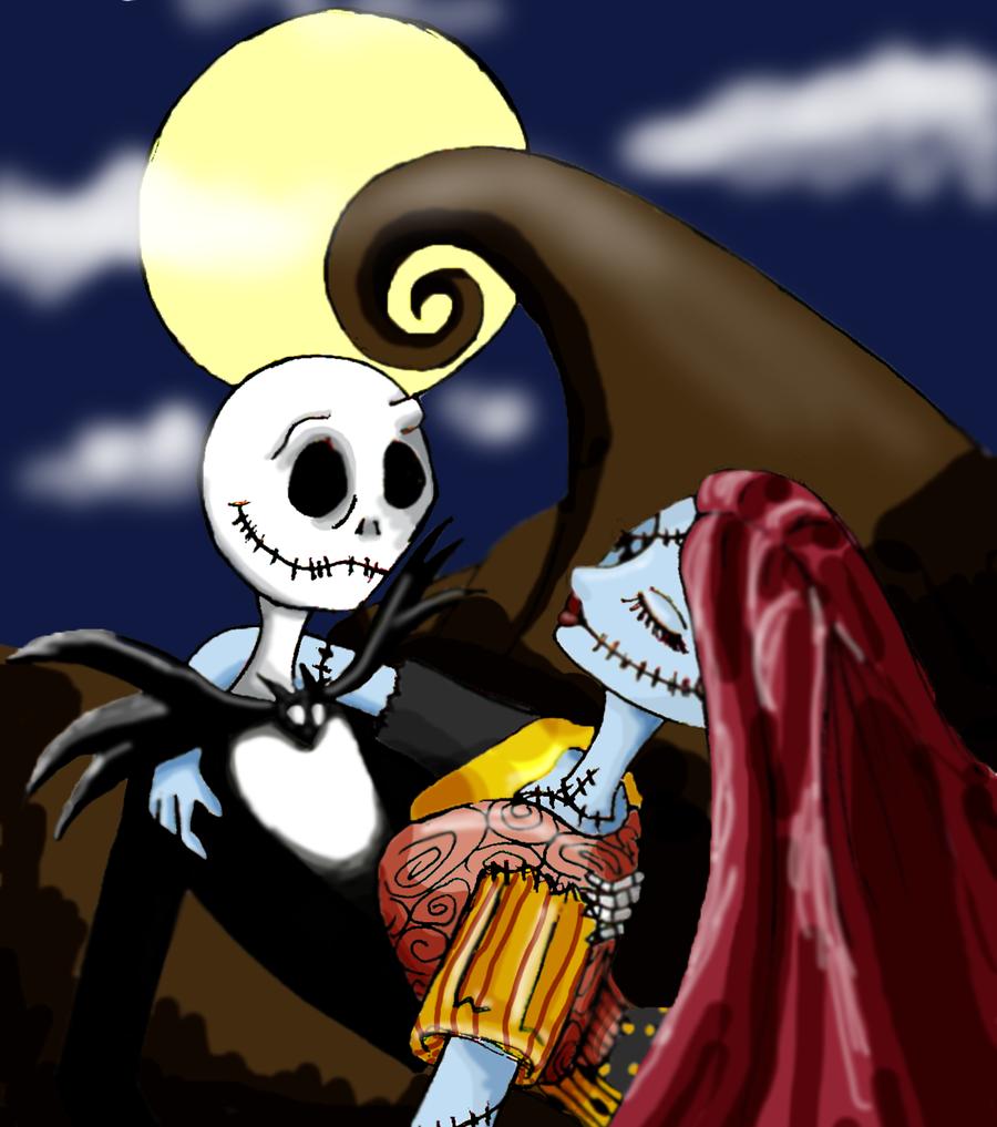 Jack And Sally By NaokoTabeuki On DeviantArt