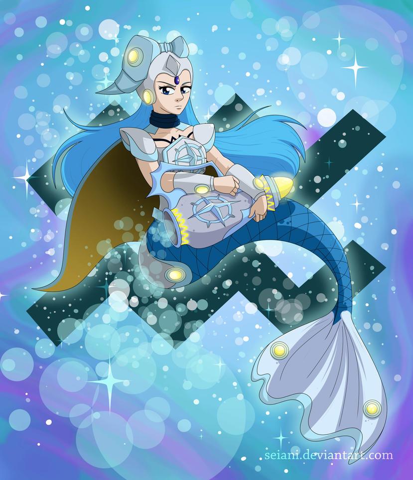 Constellar Aquarius by SeiAni on DeviantArt  Anime Aquarius