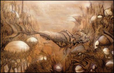 Whalimbus, the sea god. by Davidjulianlopez