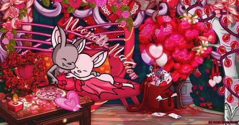 Neopets Nation - Valentine's Day by sosuftw