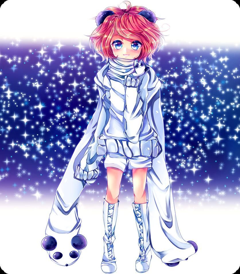 Panda-chan by Lapia