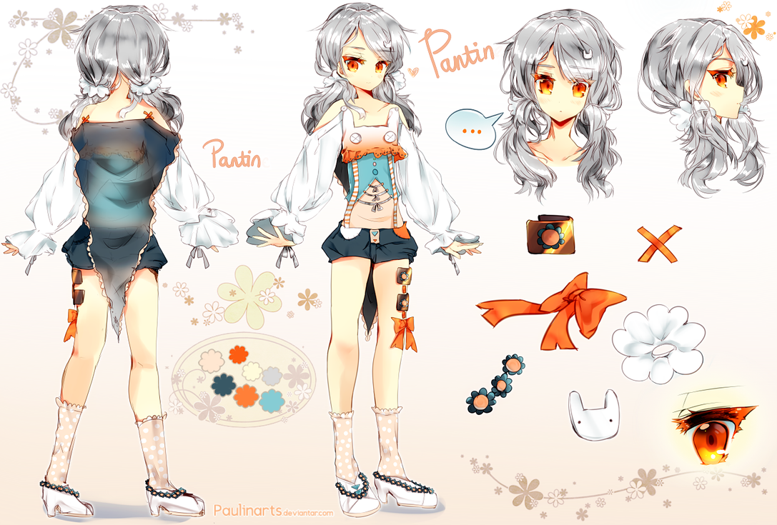 Character Design Job Openings : Character sheet pantin by lapia on deviantart