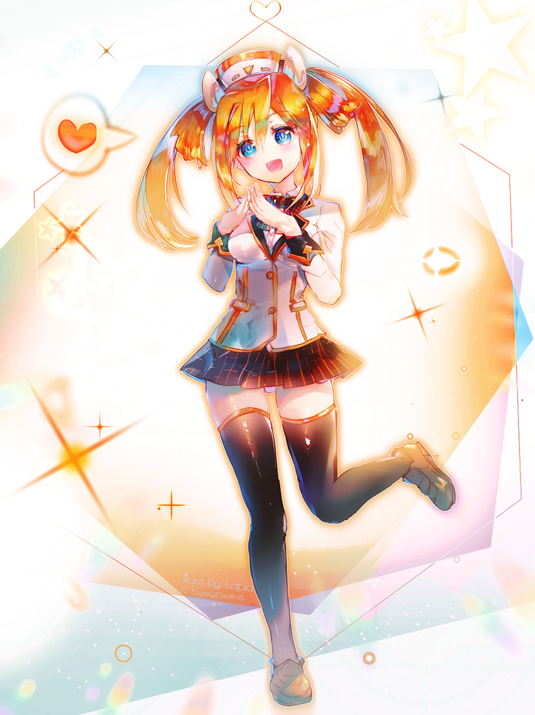 Orange Heart! by Lapia