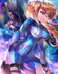 Starry Samus by Lapia