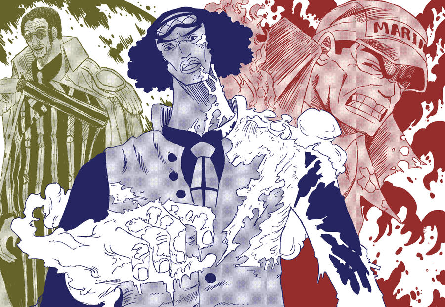 One Piece: The Three Admirals by Neodusk