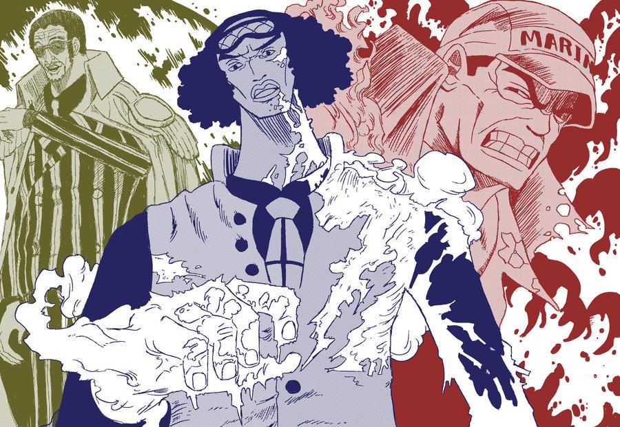 One Piece: The Three Admirals by Neodusk