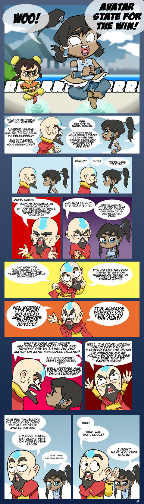 LoK: Rebel Tenzin by Neodusk