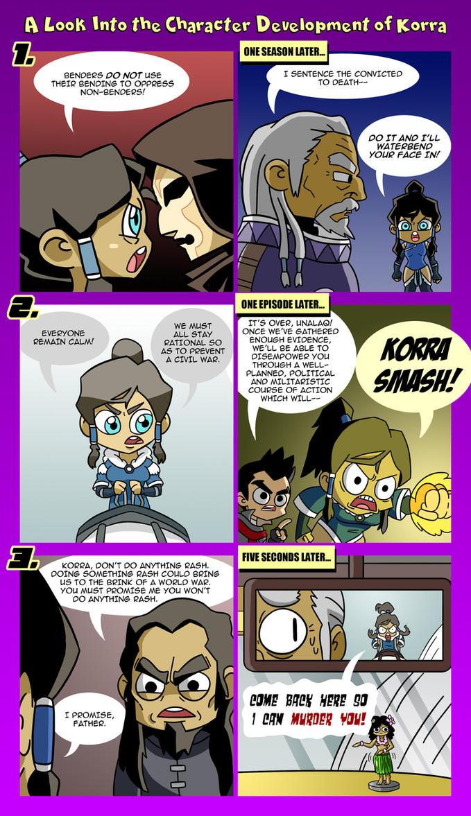 LoK: Korra's Progress by Neodusk