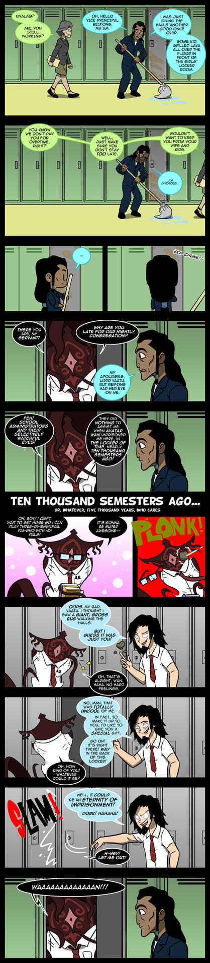 LoK: Korracademy - WANton Bullying by Neodusk