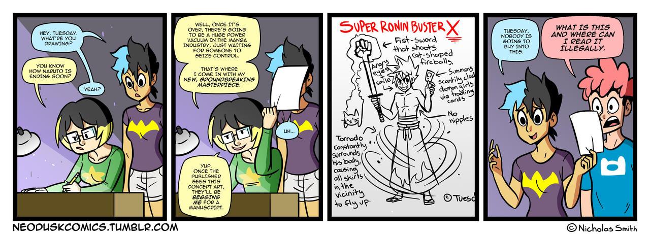 Fandumb #4: The Next Naruto by Neodusk