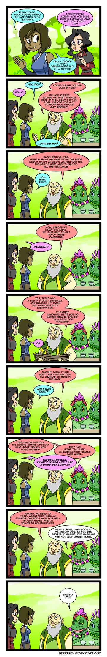 LoK: Double Entendre by Neodusk