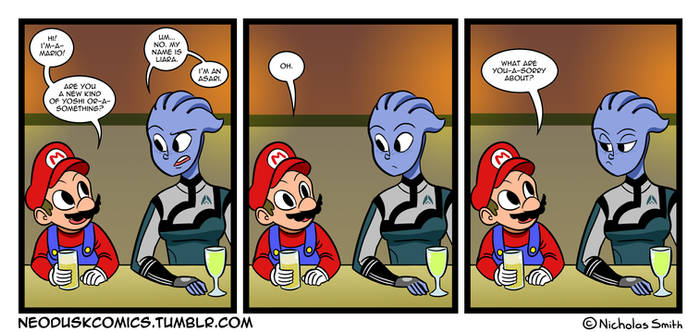 Fandumb #26: Meanwhile, at the Gamers Bar