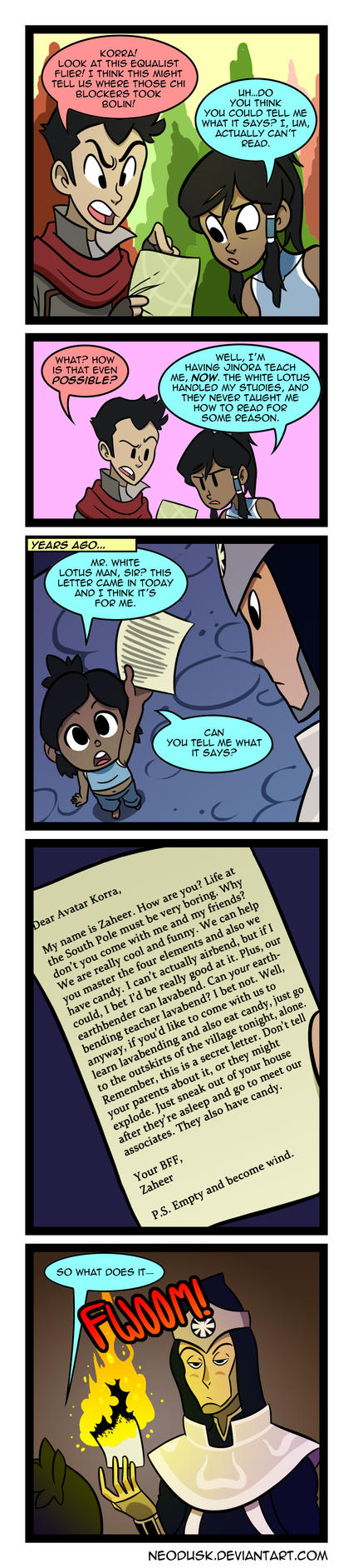 LoK: Un-Literate by Neodusk