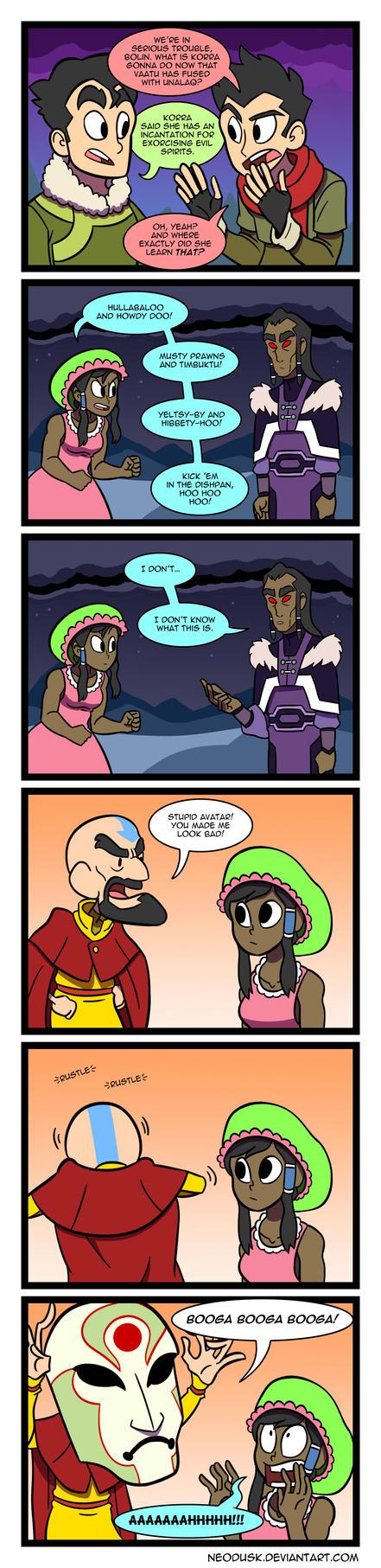 LoK: Korra the Kowardly Avatar by Neodusk