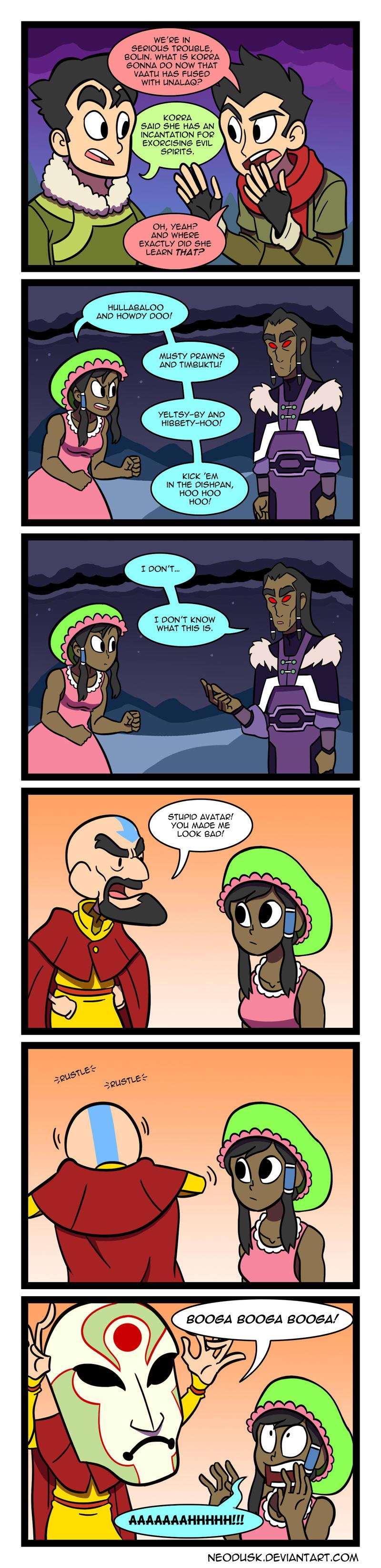 LoK: Korra the Kowardly Avatar