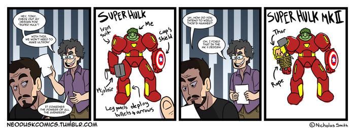 Fandumb #53: Avengers Pre-Assembled by Neodusk