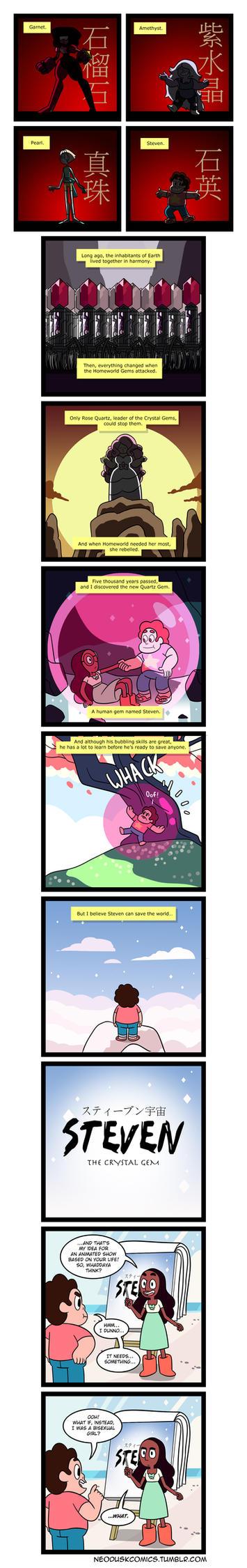 Steven Universe: The Last Gembender by Neodusk