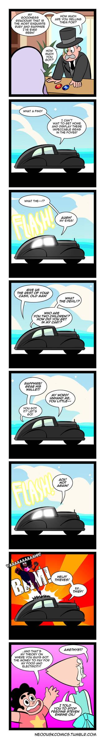 Steven Universe: Foe Gemstones
