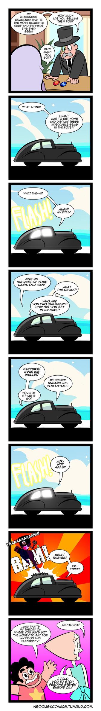 Steven Universe: Foe Gemstones by Neodusk