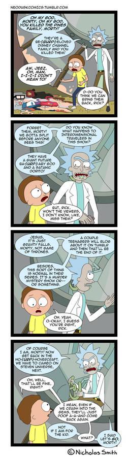Fandumb #76: Rick And Morty and Gravity Falls