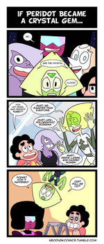 Steven Universe: Peridot Joined Your Party by Neodusk