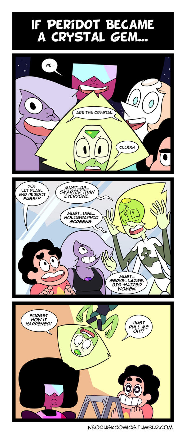 Steven Universe: Peridot Joined Your Party